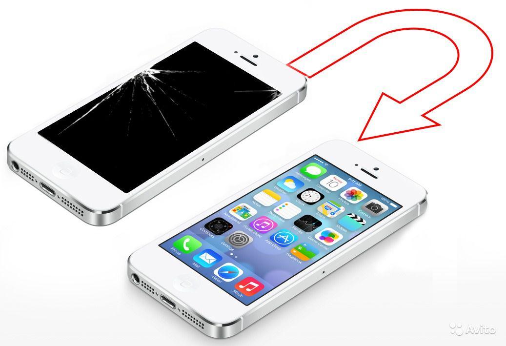 Замена тачскрина на iphone 4