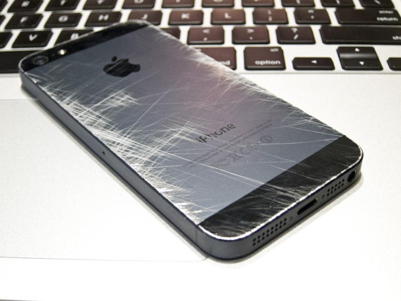 Замена корпуса на iphone 5